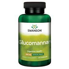 Glucomannan - oplosbare vezel voor spijsvertering - effecten - review - opmerkingen